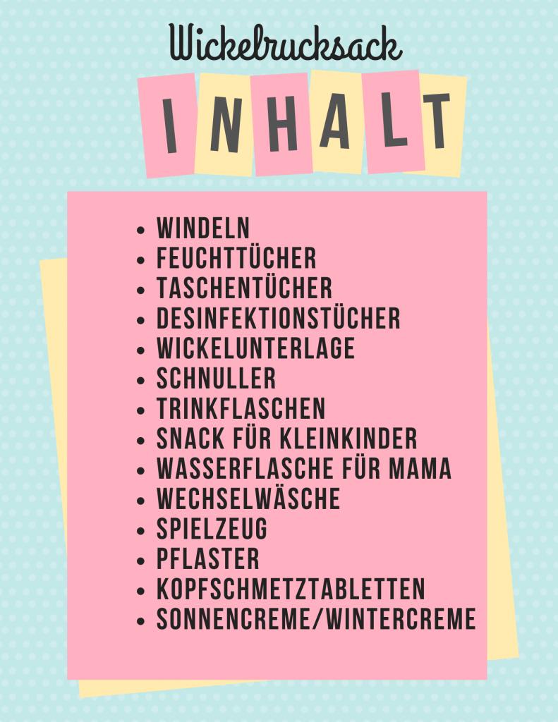 Inhalt-Wickelrucksack
