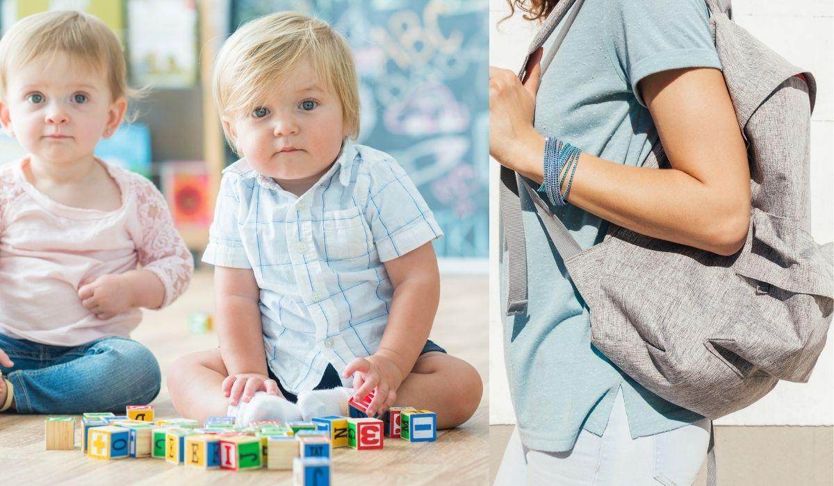 windelrucksack für 2 kinder