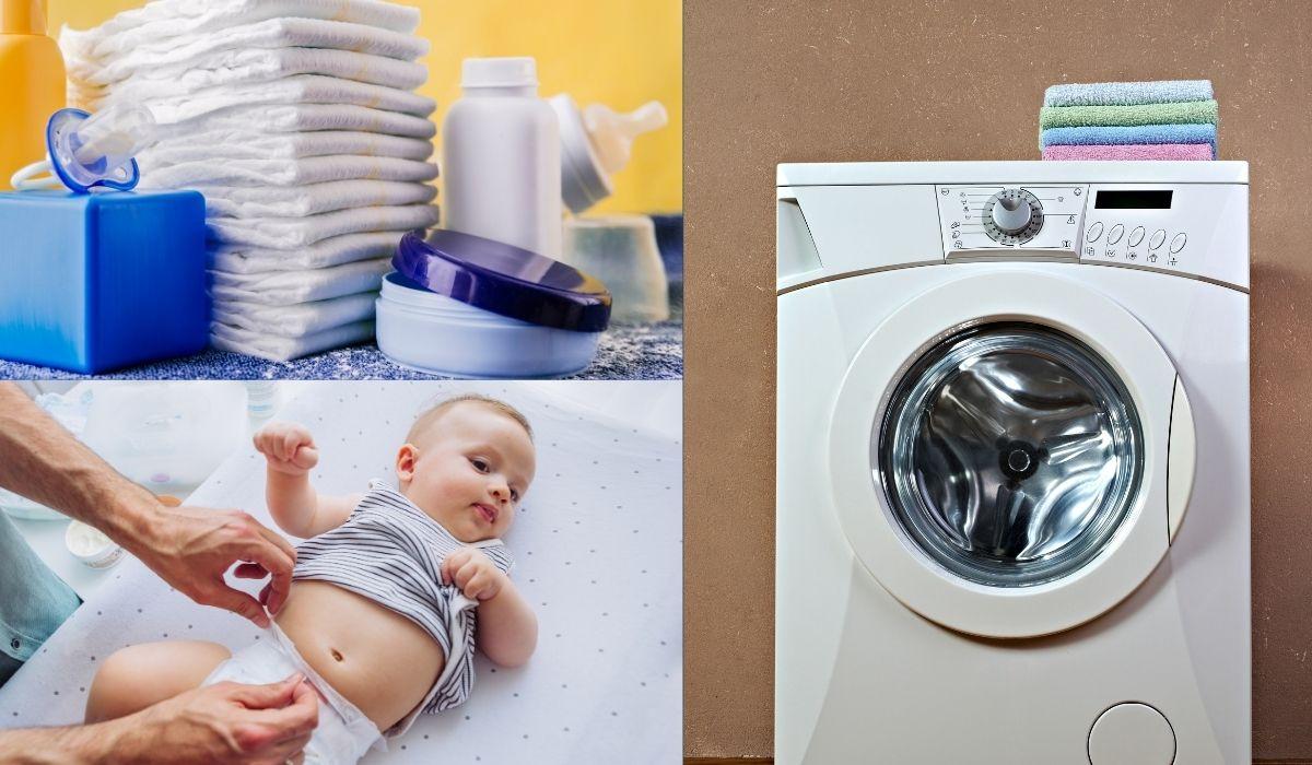 wickeln auf der waschmaschine