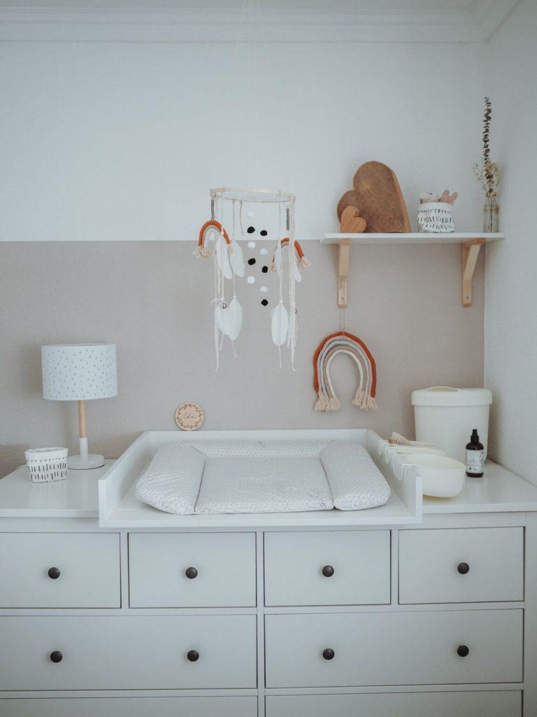 baby mobile - boho style - selber machen- ideal für den wickeltisch