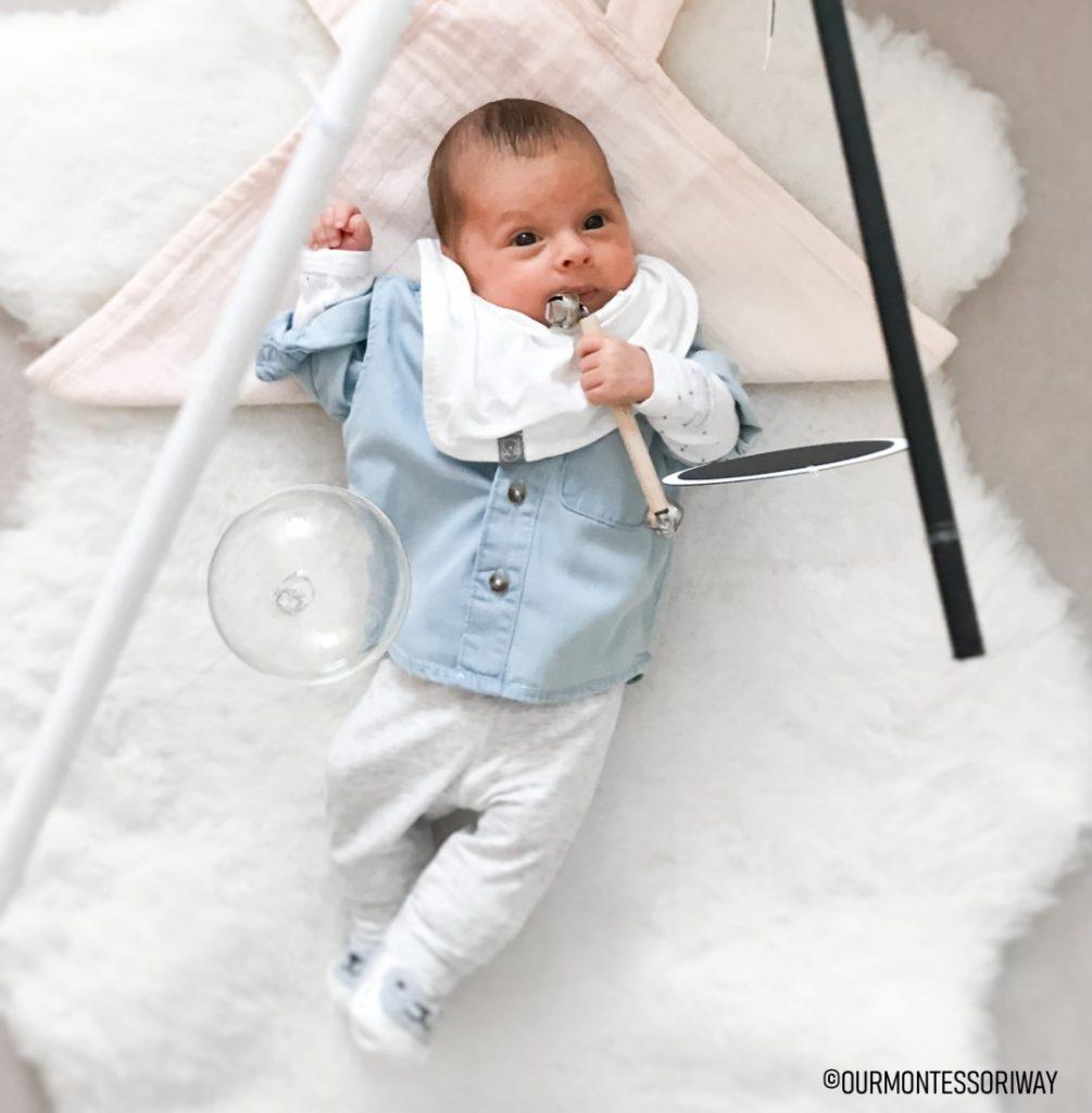 diy montessori mobile fürs baby - selbst gemacht und effektvoll