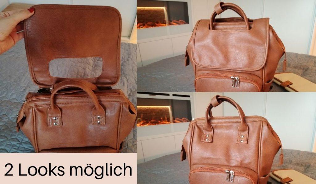 brauner baby rucksack getestet
